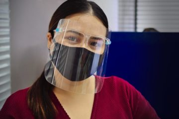 Safest reusable face shield on the market